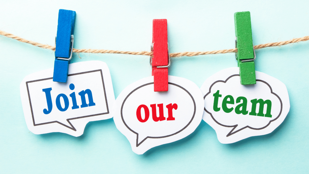 Join our team image